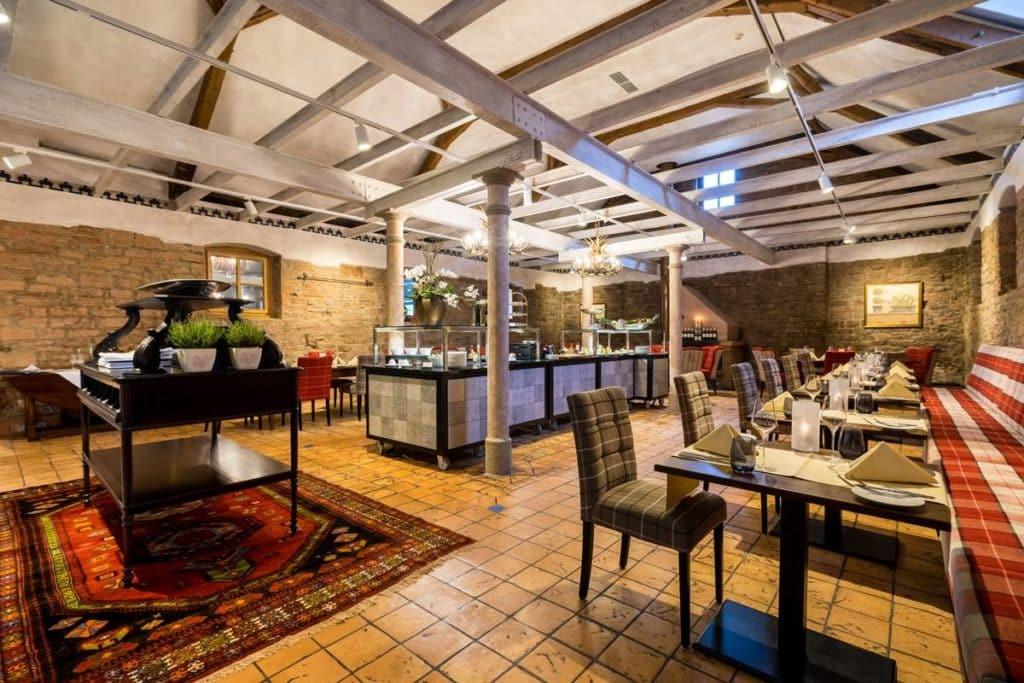 Das Gourmet-Restaurant Rumpolt im Schlosshotel Weyberhöfe