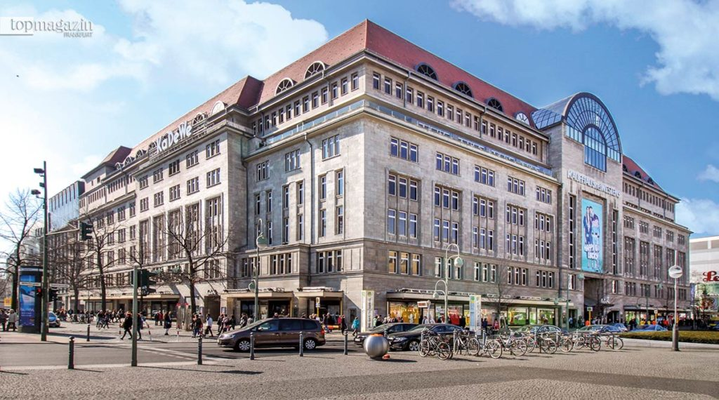 Das KaDeWe (Kaufhaus des Westens) in Berlin