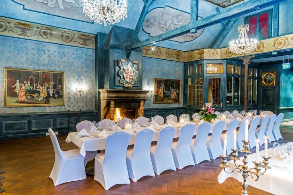 Der Fürstensaal im Schlosshotel Weyberhöfe