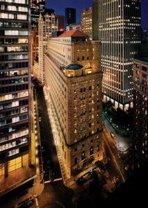 Die Federal Reserve Bank of New York in Manhattan, wo 8.000 Tonnen Gold lagern.