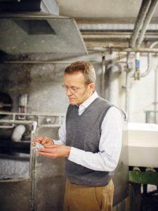 Florian Kohler, Inhaber der Papierfabrik Gmund