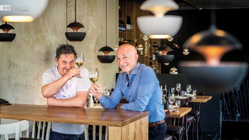 Ljubisa Mitic und Ciro Cavalho - die Betreiber des Ciro il lattaio