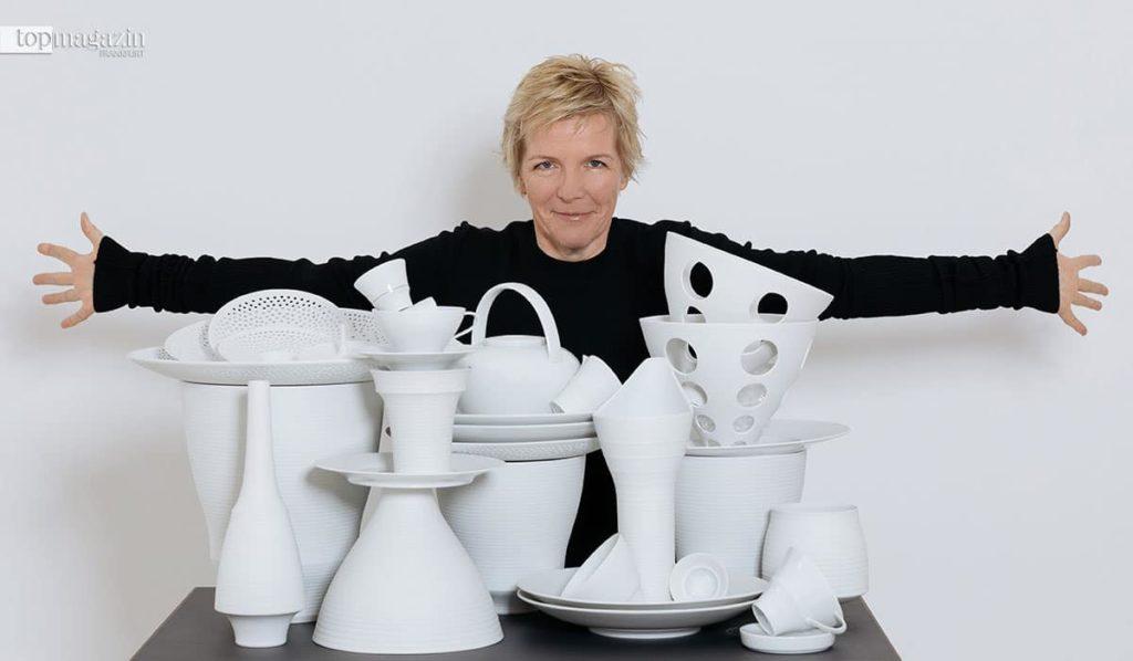 Porzellan-Designerin Stefanie Hering