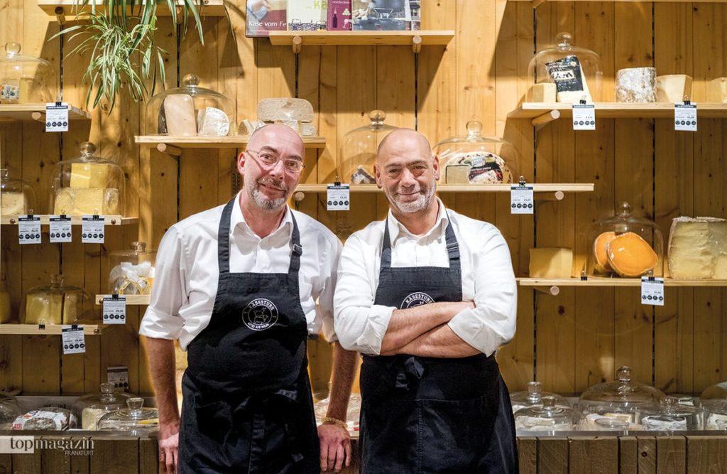 Christoph Breitinger und Vartan Kevorkyan in der Käsestube