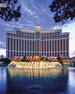 Das Bellagio in Las Vegas