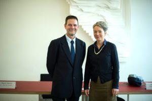 Miguel Casares und Ina Hartwig (Foto Roessler)