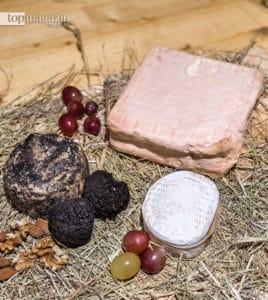 Pecorino al Tartufo, Maroilles und Le Sanglé