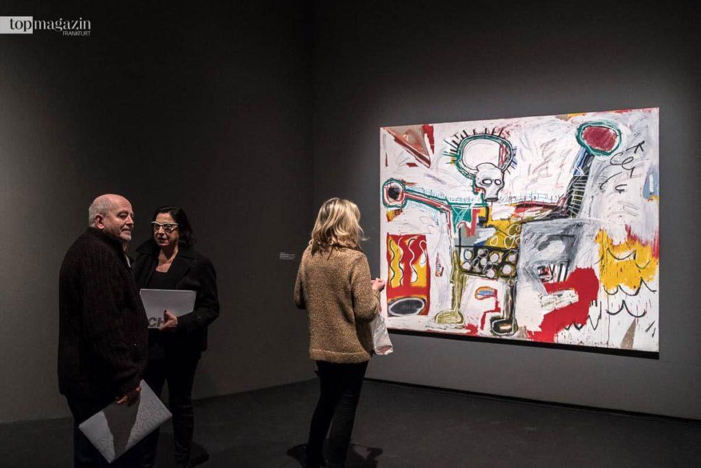 Über 100 Werke von Jean-Michel Basquiat sind bis zum 27. Mai in der Schirn zu sehen.
