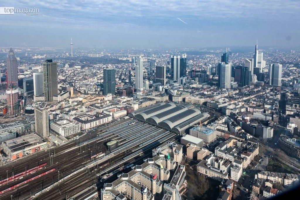 Der Frankfurter Hauptbahnhof ist einer der drei Zuständigkeitsbereiche der Bundespolizei in Frankfurt.