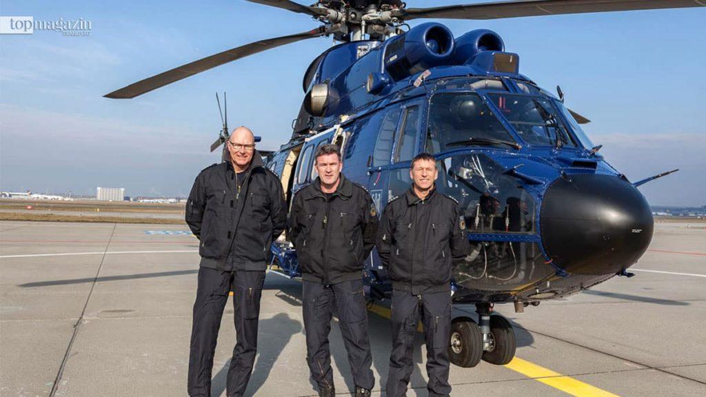 Jörg Schwarzmann, Jürgen Vogt und Ralf Paulus (Fliegerstaffel Fuldatal)