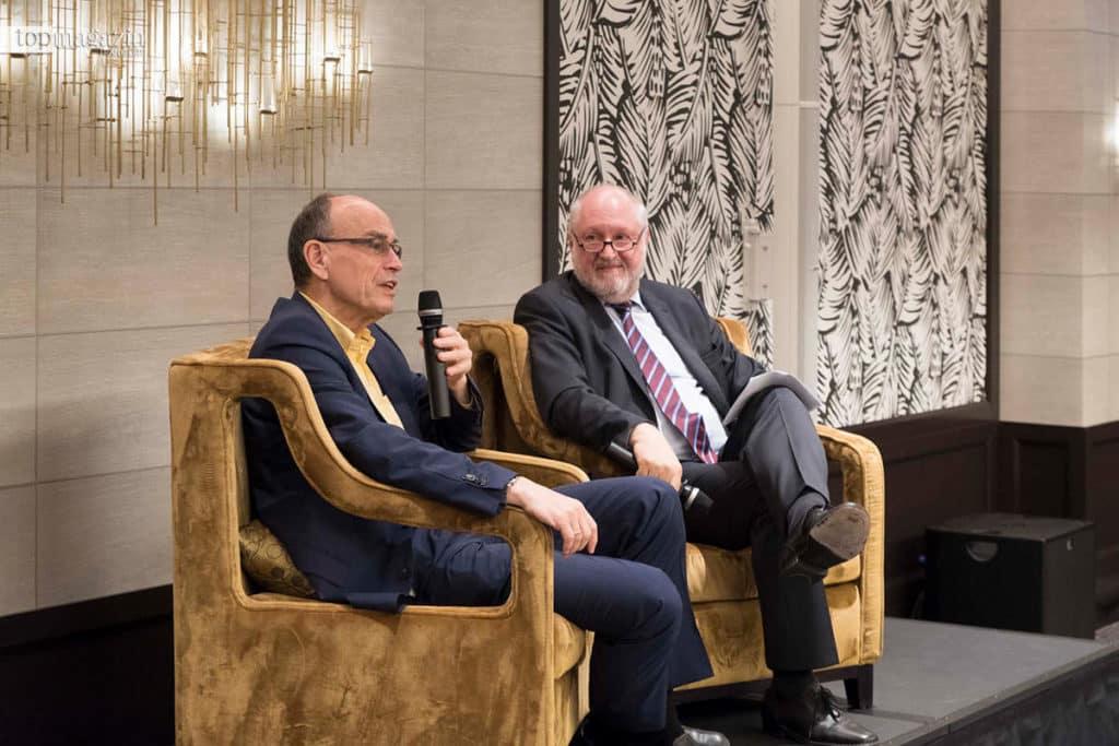 Prof. Dr. Thomas C. Südhof im Gespräch mit Werner D'Inka