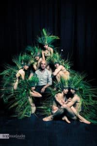 Jacopo Godani mit seinen Tänzern der Dresden Frankfurt Dance Company