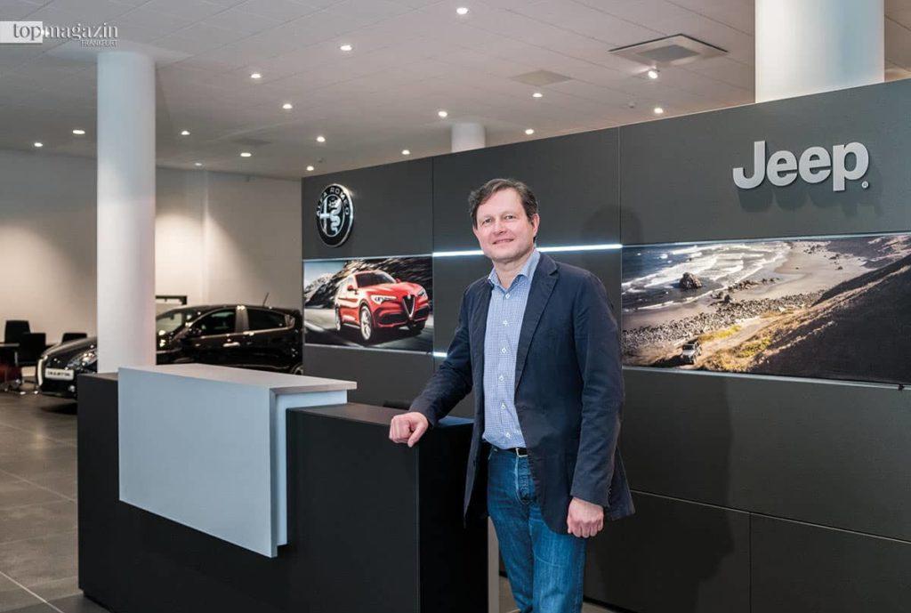Michael Bergmann, Leiter des Motor Village Frankfurt