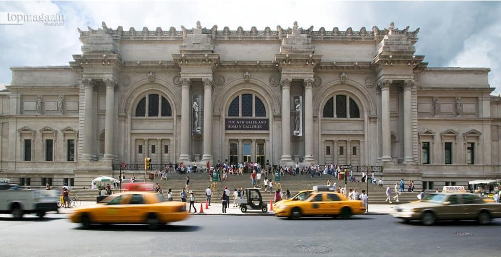 Das Metropolitan Museum of Art in New York City