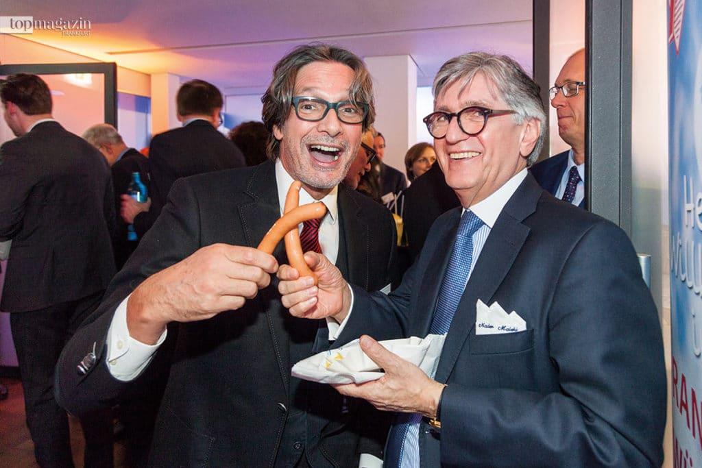 IHK-Vizepräsident THomas Reichert und Dr. Nader Maleki