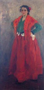 Alexej von Jawlensky - Helene im spanischen Kostüm