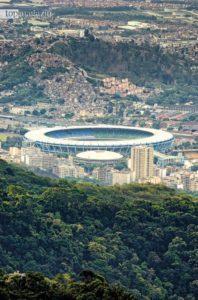 Das Maracanã-Stadion in Rio de Janeiro - hier wurde Deutschland 2014 Weltmeister