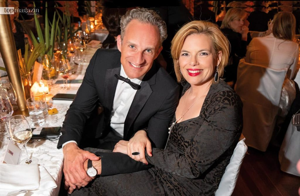 Bundesministerin für Ernährung und Landwirtschaft Julia Klöckner mit Lebensgefährte Ralph Grieser
