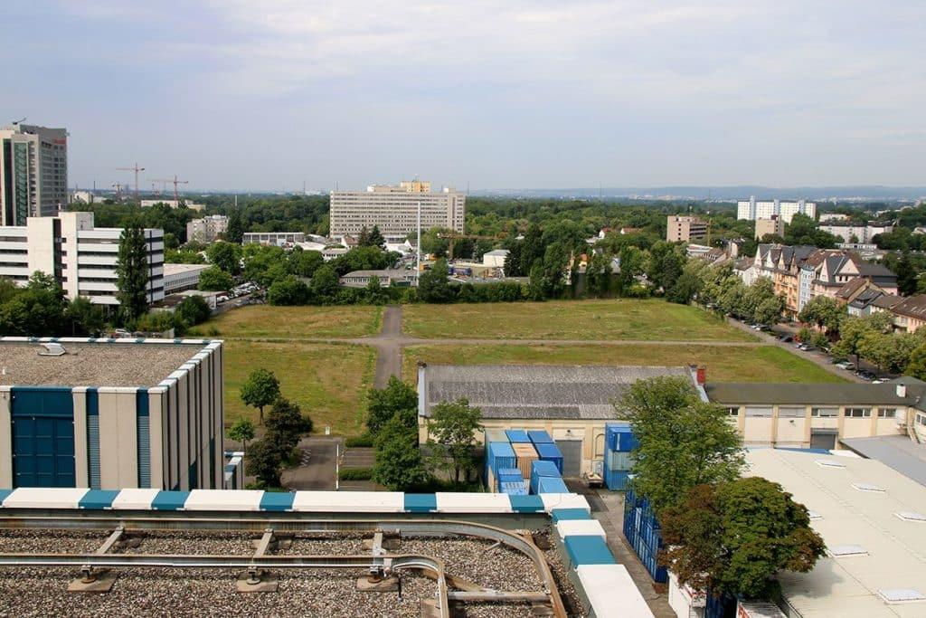 So sieht das künftige Schoenhofviertel heute noch aus (Foto Sabine Antonius)