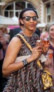 Kidi Abraha, Chefeinkäuferin des Modehaus Pfüller