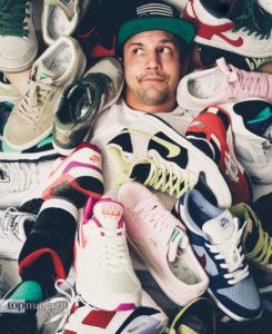 Sneaker-Sammler Ben Birkl