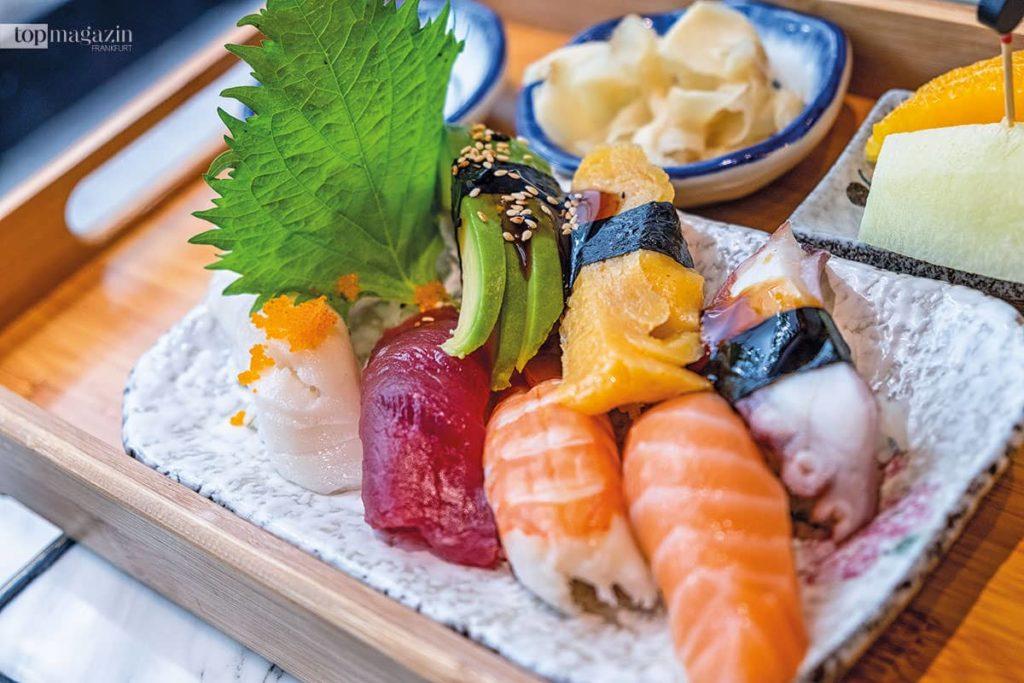 Sushi im Sakura Frankfurt