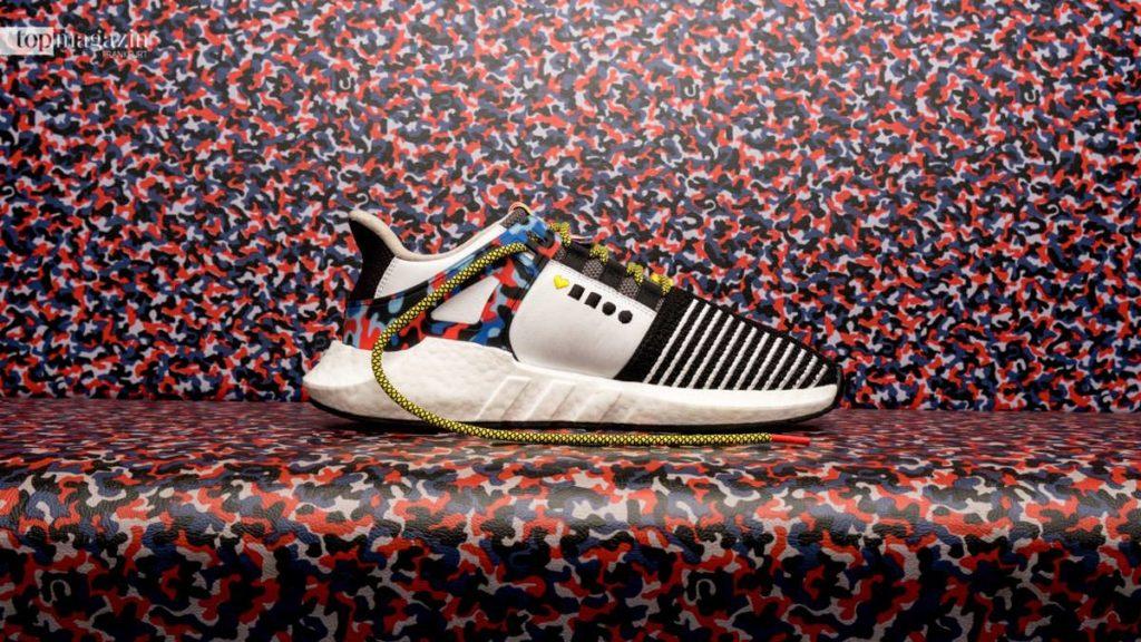 Tragbare BVG-Jahreskarte - der Adidas-Sneaker 'EQT-Support 93:Berlin'