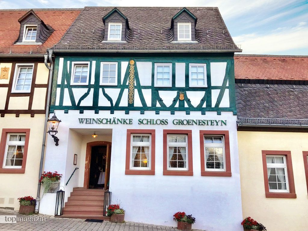 Weinschänke Schloss Groenesteyn