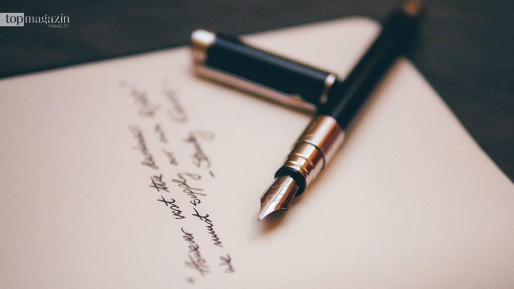 Jedes Testament muss handschriftlich verfasst werden