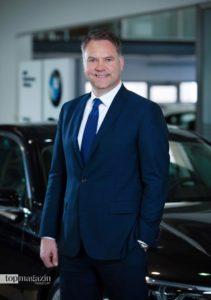 Leiter der BMW Niederlassung Frankfurt Tobias Lichtenberg