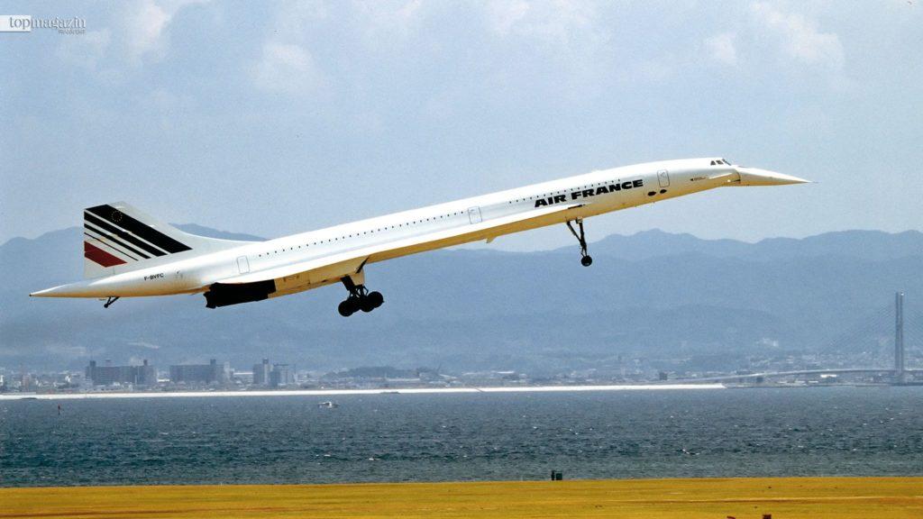 Die Concorde war das erste Überschall-Passagierflugzeit der Welt.