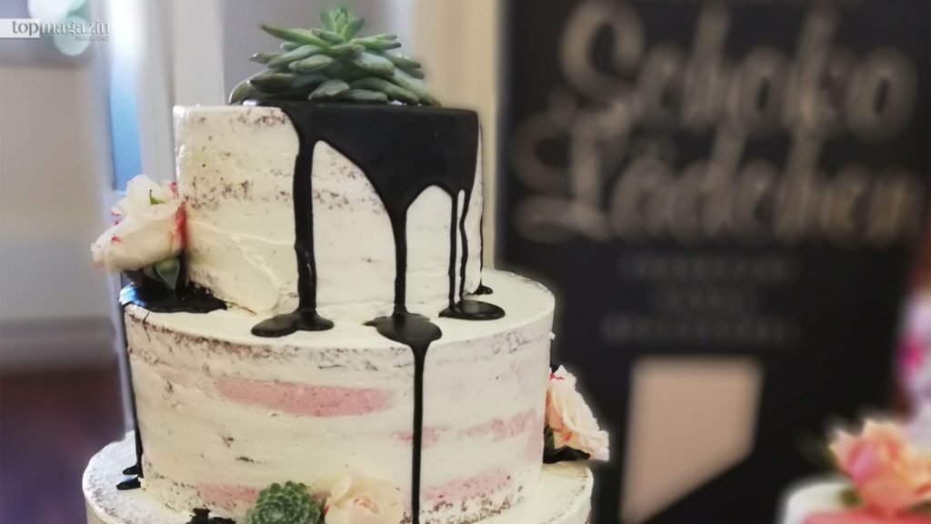 Diesen Naked Cake gibt es im Schokolädchen
