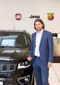 """""""Jeep, Fiat und Abarth sind einfach emotionale Marken. Das leben zu dürfen, ist toll."""" - Michael Lehner FCA Motor Village Wiesbaden"""