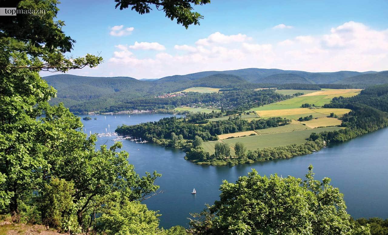 Der Edersee gehört zu den größten Stauseen Europas