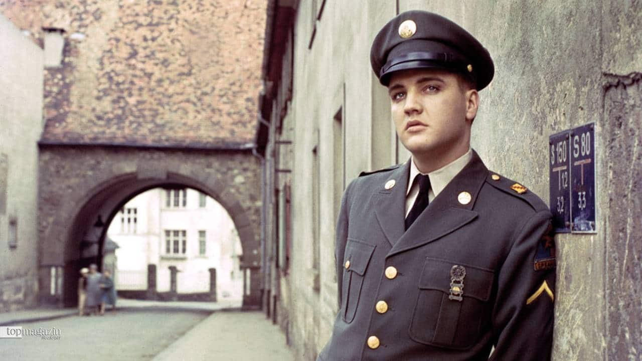 Elvis Presley als GI in Bad Nauheim