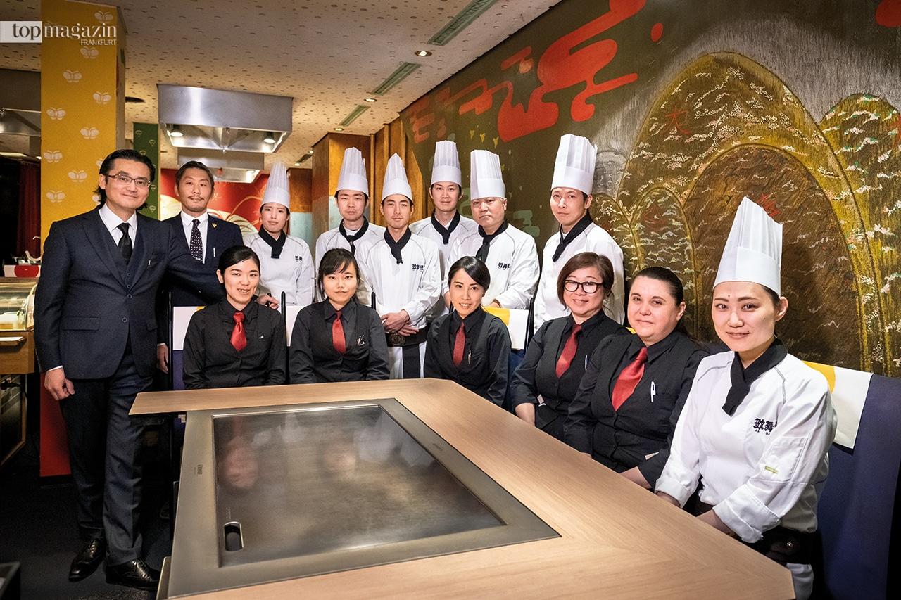 Seit 30 Jahren zieht es Feinschmecker in das japanische Restaurant Kabuki auf der Kaiserstraße