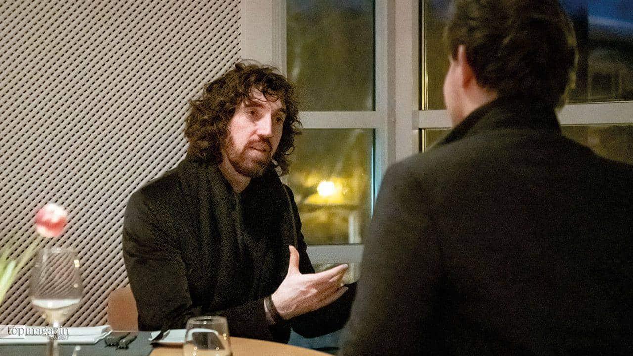 Jonathan Jeremiah im Gespräch mit Niklas Mag